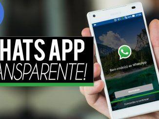 WhatsApp Plus Transparente para celular Android